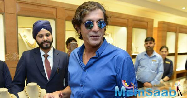 Chunky Pandey Also Attended The Sunar Jewellery Shop Launch Event