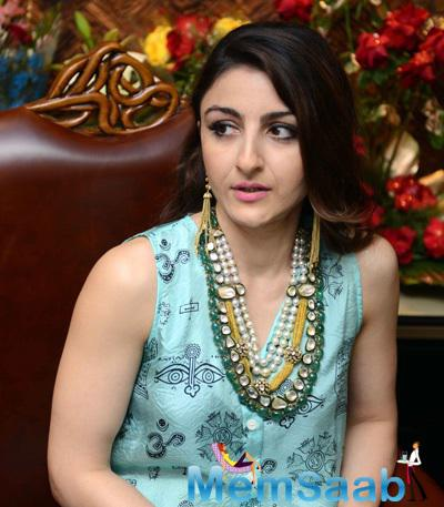 Soha Ali Khan At The Launch Of Sunar Jewellery Shop Karol Bagh In New Delhi
