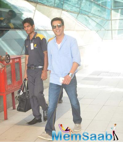 Jimmy Shergill Also Spotted At Domestic Airport