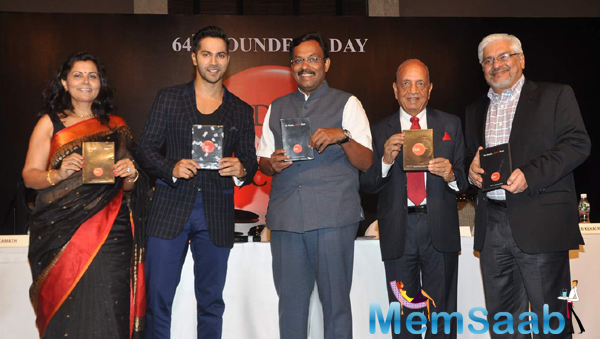 Varun Dhawan Graces Indian Cancer Society's 64th Founders' Day Celebrations