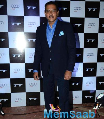 Indian Cricket Team Director Ravi Shastri At Audi Race In RWITC