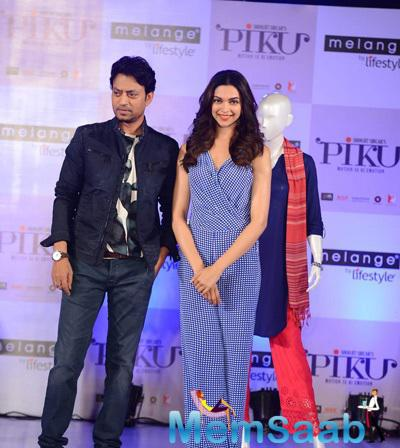 Deepika And Irrfan Khan Unveiled An Ethnic Fusion Collection From Melange By Clothing Brand Lifestyle