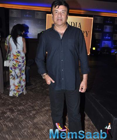 Anu Malik Arrived At India Luxury Week Meet 2015