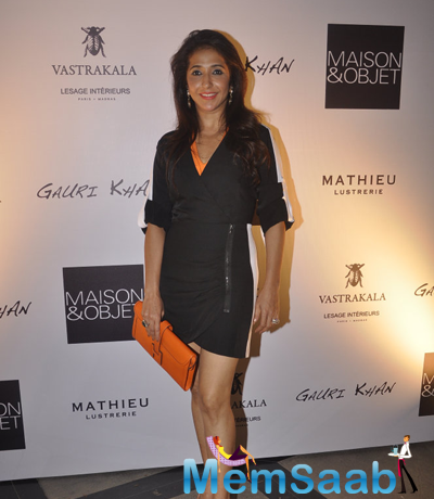 Krishika Lulla Snapped At Gauri Khan's Private Workspace Launch Event
