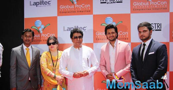 Globus Procon Studio Launched By Honble Mr. Raj Thackeray And Mr. Ritiesh Deshmukh
