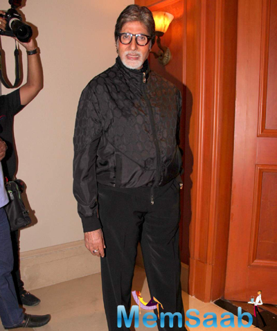 Amitabh Bachchan Dazzled The Event With Two Different Shoes