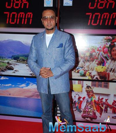 Gulshan Grover Attend The J & K Bash To Invite Bollywood To Kashmir