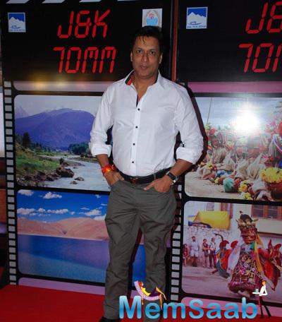 Madhur Bhandarkar Posed For Camera At J & K Bash To Invite Bollywood To Kashmir