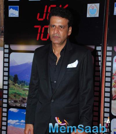 Manoj Bajpai Graced During J & K Bash To Invite Bollywood To Kashmir