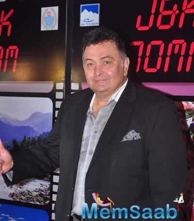 Rishi Kapoor Present At J & K Bash To Invite Bollywood To Kashmir