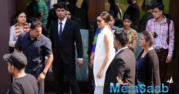 Deepika Padukone Arrived At Delhi For Promoting Piku Movie