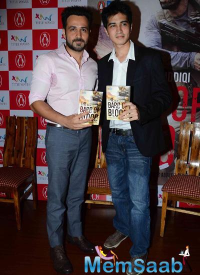 Emraan Hashmi And Bilal Siddiqi Launched Bilal Siddiqi Book