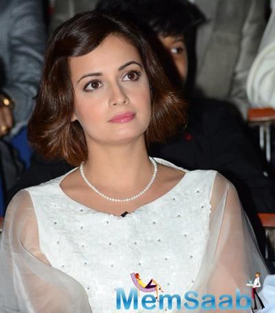 Dia Mirza Stunning Beautiful Look At NDTV-Nirmal Lifestyle Marks For Sports Campaign