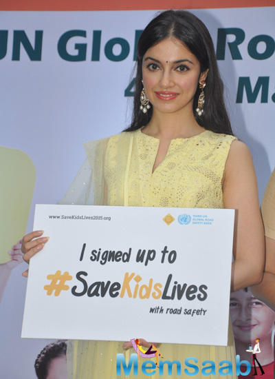 Divya Khosla Kumar Pledging Her Support For Safe Kids Foundations Safe Kids Day