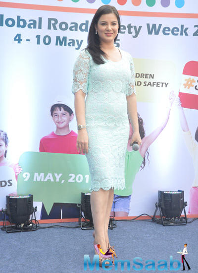 Urvashi Sharma Cool Attractive Look At Safe Kids Day