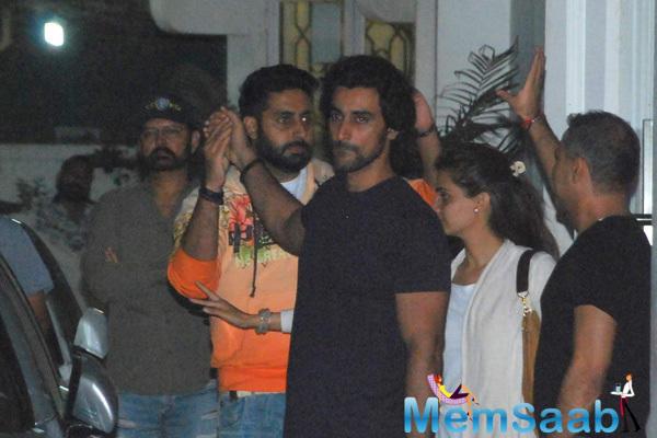 Abhishek And Kunal Kapoor During The Sunny Super Sound For Piku