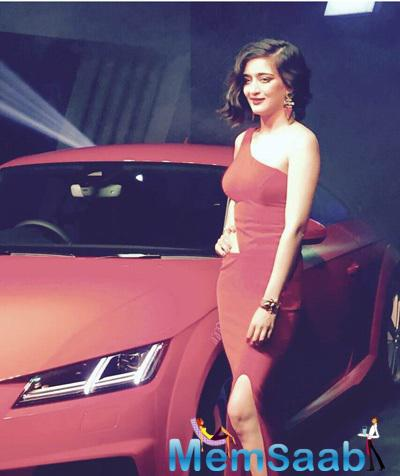 Akshara Hassan Launched The New Audi TT Car In Chennai