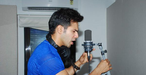 Varun Dhawan Record Rap Song For ABCD 2