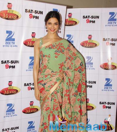 Deepika At DID Super Moms For Her Movie Piku