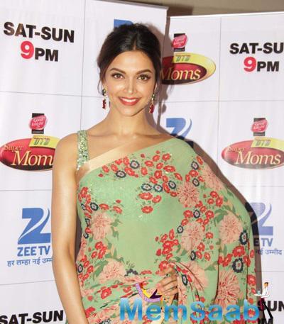Deepika Padukone Promotes PIKU At Zee TV DID Super Moms