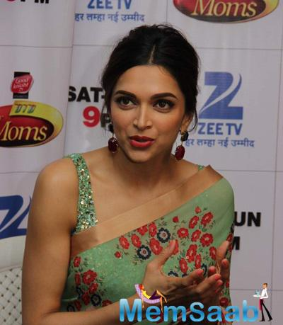 Deepika Support The Supermoms And Also To Promote Their Upcoming Film