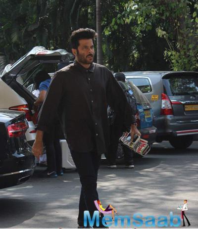 Anil Kapoor Leaves For IIFA Press Meet