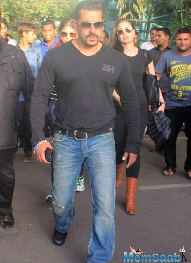 Salman And Kareena Back To Mumbai After Wrapping Up Bajrangi Bhaijaan