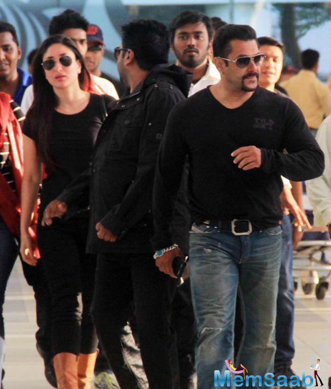 Salman And Kareena Wraps Up The Shooting Of Bajrangi Bhaijaan In Kashmir