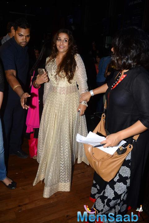 Vidya Balan Arrives At The Music Launch Of Hamari Adhuri Kahani