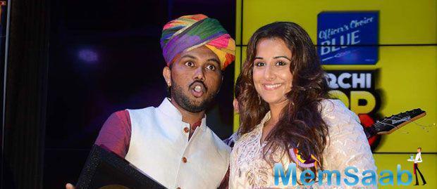Vidya Balan Launched The Music Of Her Upcoming Film Hamari Adhuri Kahani