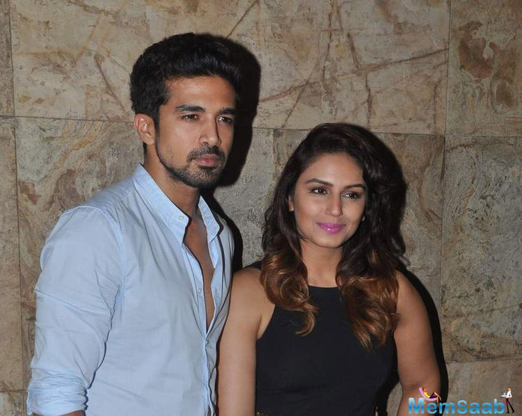 Huma With Her Bro Saqib Saleem Attend Special Screening Of Tanu Weds Manu Returns