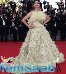 Sonam Kapoor Rocks The Red Carpet In An Elie Saab Outfit