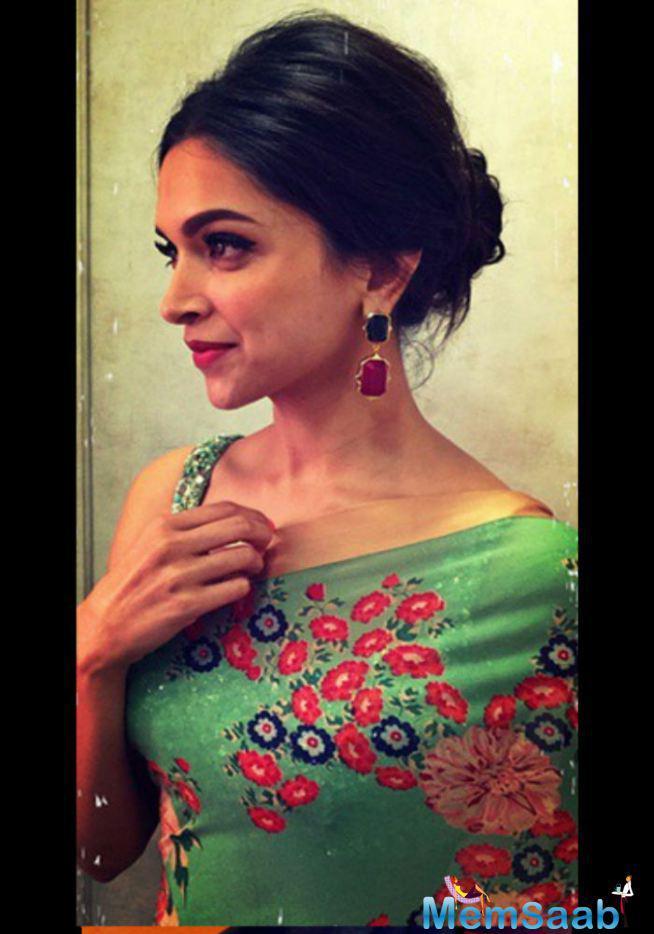 Deepika Padukone Comes To Indian Wear DID Super Moms For Piku Promotion