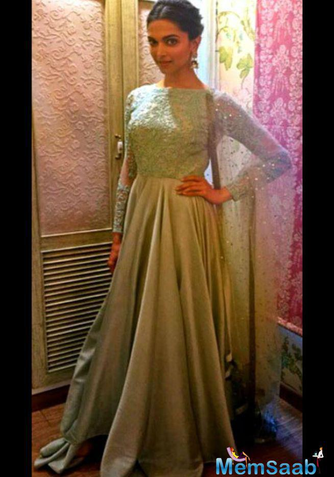 Deepika Padukone's This Get Up Also For Piku Promotion