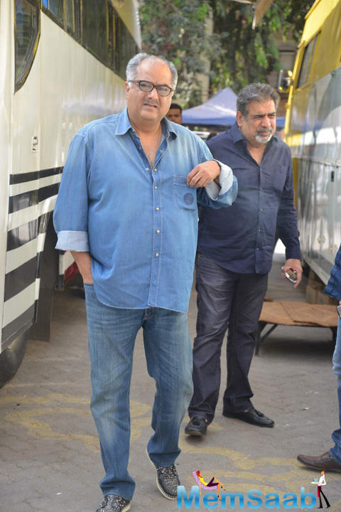 Boney Kapoor Spotted At The Photo Shoot Of Dil Dhadakne Do