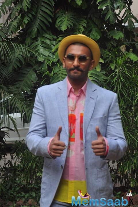 Ranveer Singh Enjoyed Good Camaraderie In Photo Shoot Of Film DDD
