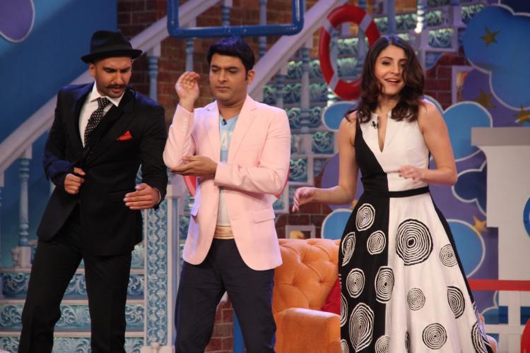 Anushka And Ranveer Dance To 'Ainvayi Ainvayi' On 'Comedy Nights With Kapil'