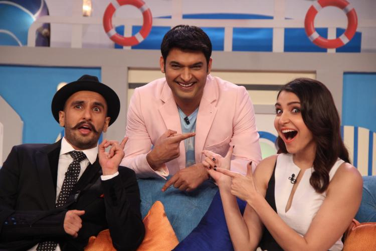 DDD Team Promote Their Movie At Comedy Nights With Kapil