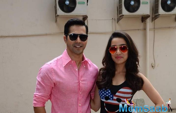 Varun And Shraddha Are Busy With Their Upcoming Dance Film ABCD 2