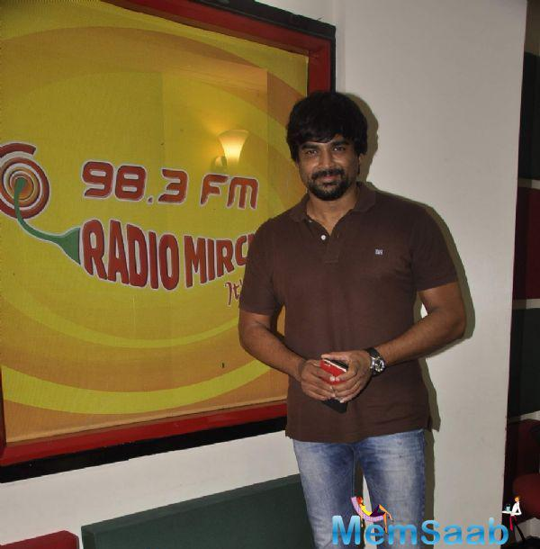 Madhavan At Red FM For Celebrating Tanu Weds Manu Returns Success Bash