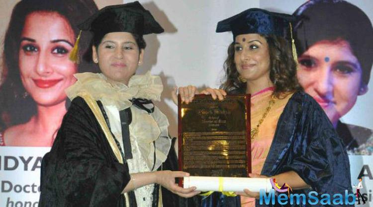 Bollywood Diva Vidya Balan To Confer With Doctor Of Arts Honoris Causa Degree Award Today By Rai University
