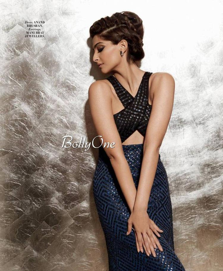 Sonam Kapoor Features In The Latest Edition Of L'Officiel Magazine Cover And She Looks Stunning