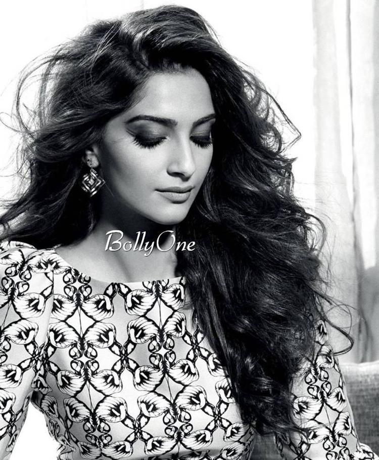 Sonam Kapoor Looks Pretty On Cover Face Of Fashion Magazine L'Officiel India June 2015