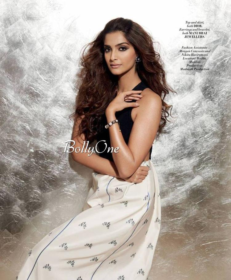 Sonam Kapoor's A Stunner On L'Officiel Cover