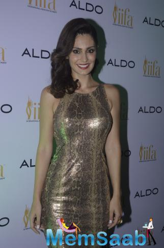Bruna Abdullah Flaunts Her Sexy Body At Aldo IIFA 2015 Promotional Event