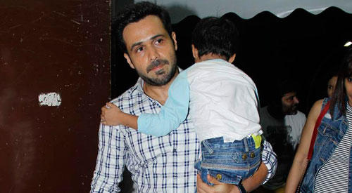 Emran Hashmi Hosted Special Screening Of  'Hamari Adhuri Kahani' For Fiends And Relatives