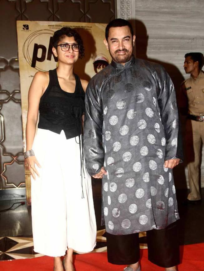 Aamir Khan Was Accompanied By His Wife Kiran Rao