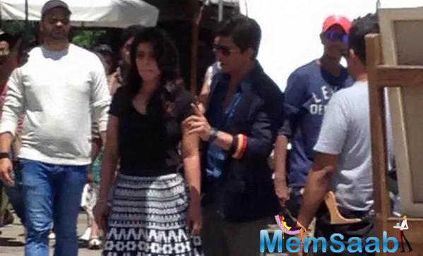 SRK And Kajol Shoot For Their Upcoming Flick Dilwale