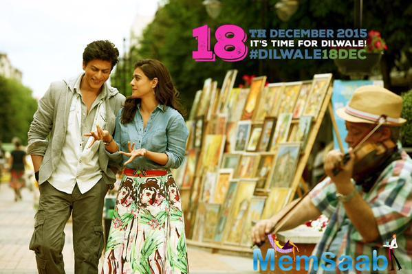 The First Look Of Rohit Shetty's Much-Awaited Dilwale Starring Shah Rukh Khan And Kajol Is Out