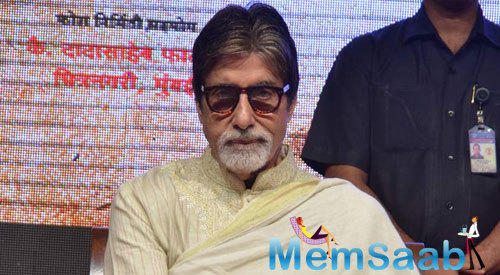 Amitabh Bachchan Attend The Marathi Book Reading Event